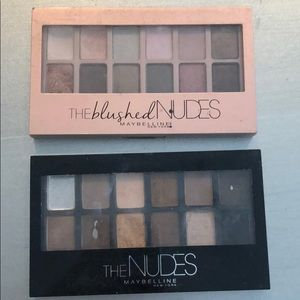 Maybelline The Nudes Eyeshadow Palettes